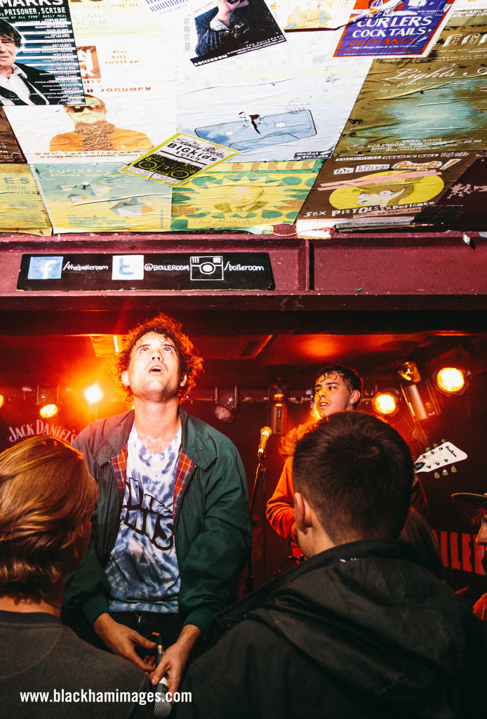 The Parrots / Boileroom / shot by Rob Blackham www.blackhamimages.com
