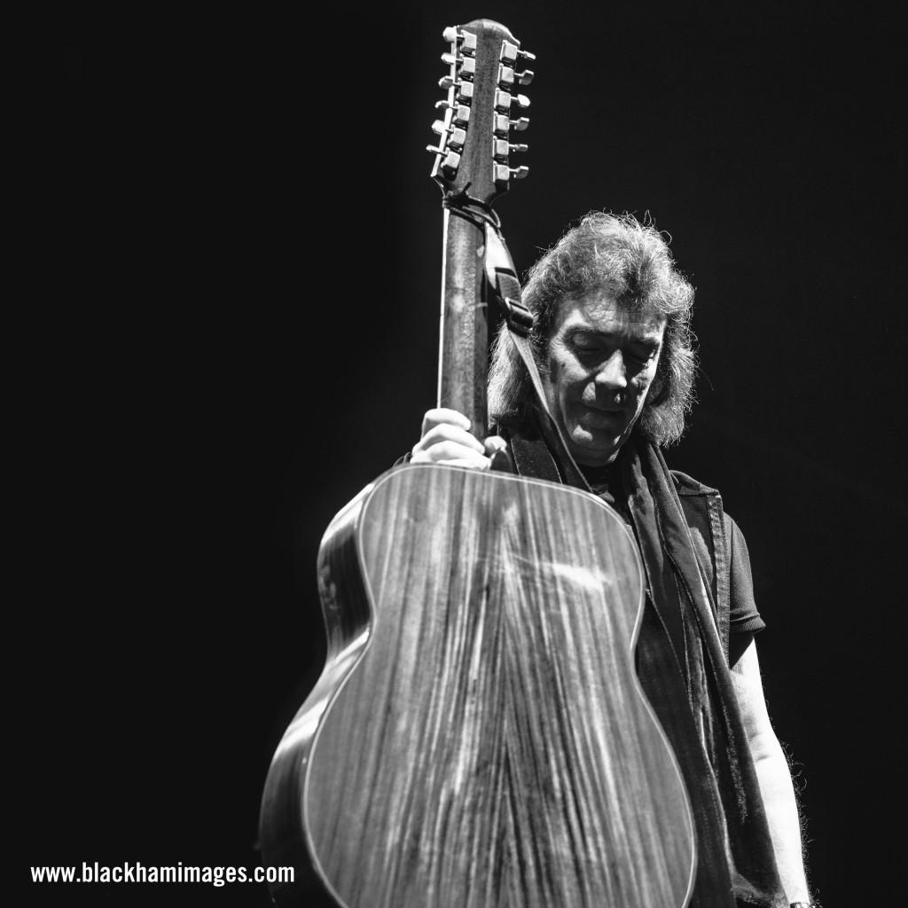 Steve Hackett / G Live / shot by Rob Blackham for www.blackhamimages.com
