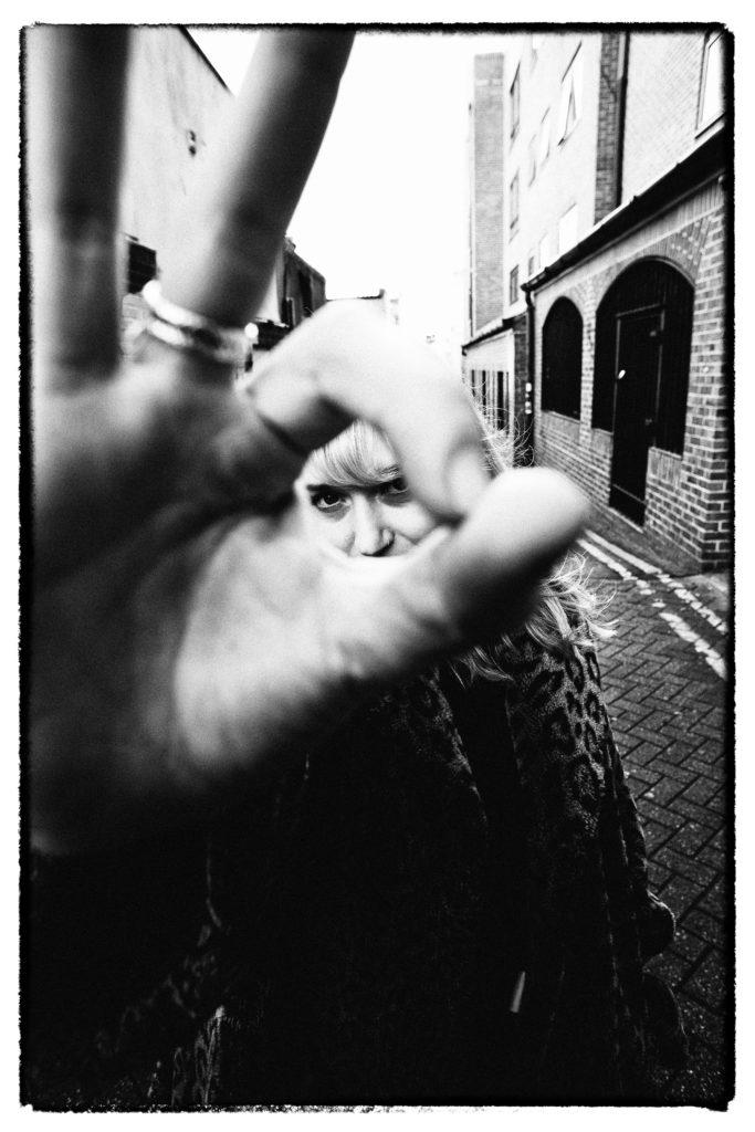 Hannah Lou Clark & Band / Backstage at The Hope & Ruin Brighton / Shot by Rob Blackham / www.blackhamimages.com